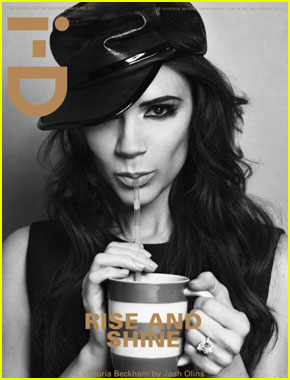 Victoria Beckham Covers 'i-D' Magazine