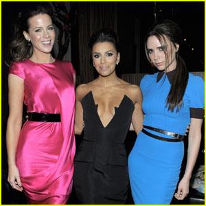 Victoria Beckham Supports Eva Longoria's Foundation