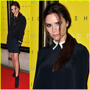 Victoria Beckham: Collection Launch at Harvey Nichols!