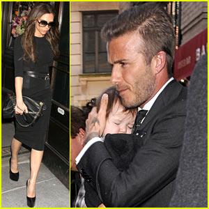 Victoria, David & Harper Beckham: Fashion Week Family!