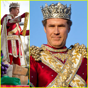 Will Ferrell: King of Mardi Gras!
