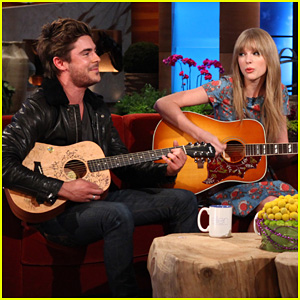 Zac Efron & Taylor Swift: Duet on Ellen!