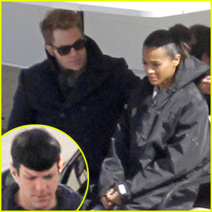 Zachary Quinto, Chris Pine & Zoe Saldana: 'Star Trek' Trio