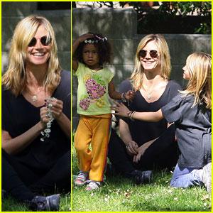 Heidi Klum: Family Park Day!