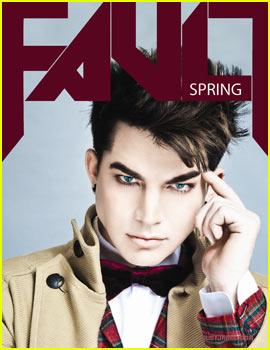 Adam Lambert Covers 'Fault Magazine' Spring 2012