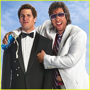 Andy Samberg & Adam Sandler: 'That's My Boy' Poster!