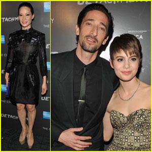 Adrien Brody & Lucy Liu: 'Detachment' Premiere!