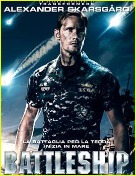 Alexander Skarsgard: New 'Battleship' International Posters!