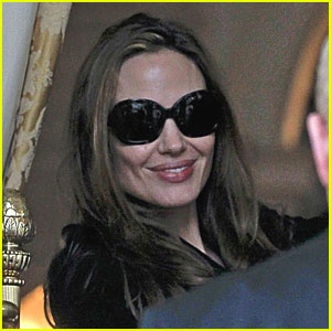 Angelina Jolie Attends Congolese Warlord's Sentencing
