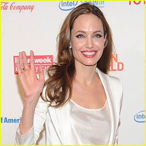 Angelina Jolie Talks 'Maleficent' and Writing Afghanistan Movie