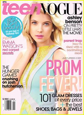 Ashley Benson Covers 'Teen Vogue' April 2012