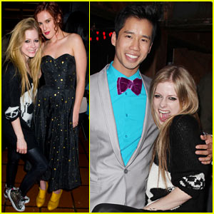 Avril Lavigne & Rumer Willis: Just Jared's 30th Birthday Bash!