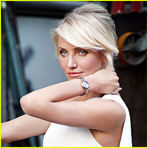 Cameron Diaz: Tag Heuer's New Face!