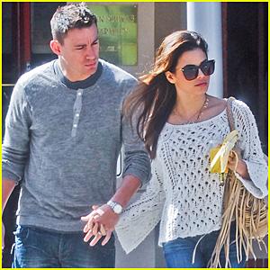 Channing Tatum & Jenna Dewan: L.A. Stroll