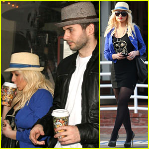 Christina Aguilera: Fred Segal Shopper