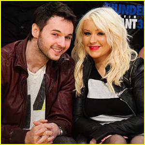 Christina Aguilera & Matt Rutler: Lakers Lovers!