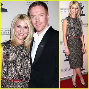 Claire Danes: 'Homeland' Panel with Damian Lewis!