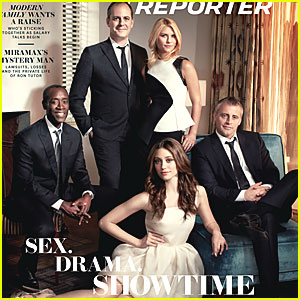 Emmy Rossum & Claire Danes Cover 'The Hollywood Reporter'