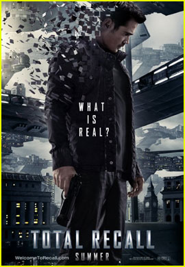 Colin Farrell: 'Total Recall' Sneak Peek & Poster!
