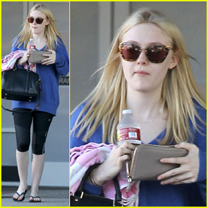 Dakota Fanning: Cardio Barre Workout