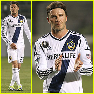 David Beckham: L.A. Galaxy Takes On Toronto
