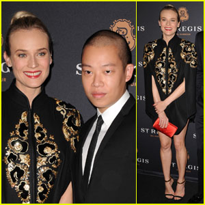 Diane Kruger: St. Regis Grand Opening with Jason Wu!