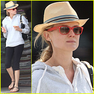 Diane Kruger: Shopping Trip with a Friend