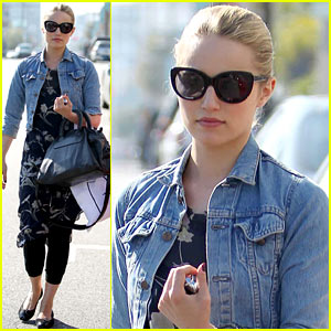 Dianna Agron: Reformation Store Shopper!