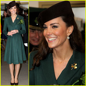 Duchess Kate: St. Paddy's Day Parade!