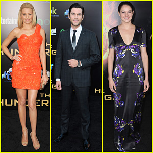 Elizabeth Banks & Wes Bentley: 'Hunger Games' Premiere!