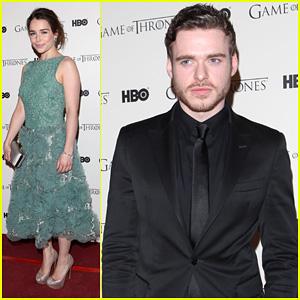 Emilia Clarke & Richard Madden: 'Game Of Thrones' DVD Launch!