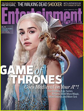 Emilia Clarke: 'Game of Thrones' Covers 'EW'