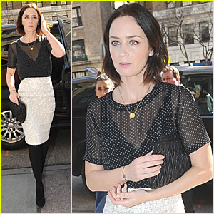 Emily Blunt: 'Salmon Fishing' Out Today!