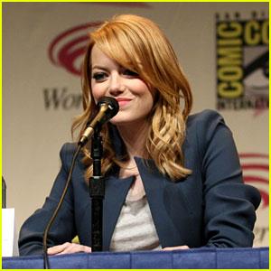 Emma Stone: 'Amazing Spider-Man' at WonderCon