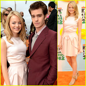 Emma Stone & Andrew Garfield - Kids' Choice Awards 2012