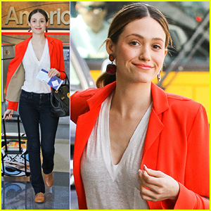 Emmy Rossum: 'East Coast This Weekend'!