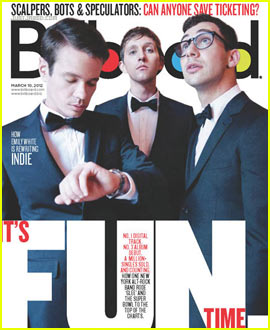 Fun. Covers 'Billboard' March 2012