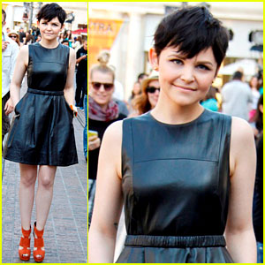 Ginnifer Goodwin: 'Extra' Appearance at the Grove!