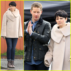 Ginnifer Goodwin & Josh Dallas: On Set for 'Once Upon A Time'