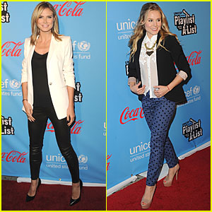 Kristen Bell & Heidi Klum: Playlist with the A-List!