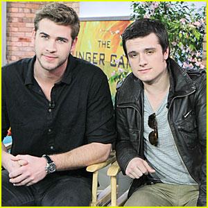 Liam Hemsworth &#038; Josh Hutcherson Talk 'Hunger Games' in Toronto