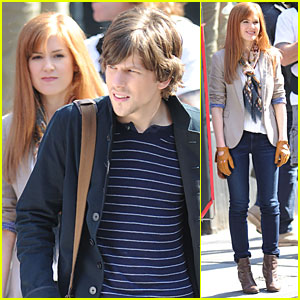 Isla Fisher: 'Now You See Me' with Jesse Eisenberg!