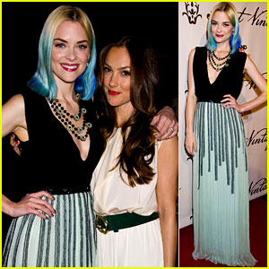 Jaime King & Minka Kelly Stand Up 2 Cancer!