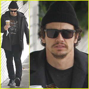 James Franco: Coffee Break in West Hollywood
