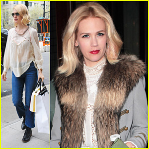 January Jones: 'It Was Challenging' Filming 'Mad Men' Pregnant