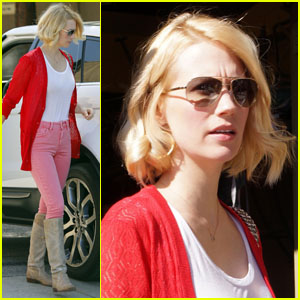 January Jones: Taste Lunch!