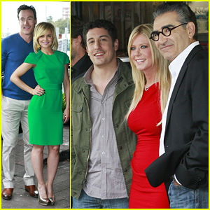 Jason Biggs & Tara Reid: 'American Reunion' Photo Call!