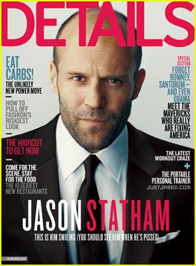 Jason Statham Covers 'Details' April 2012