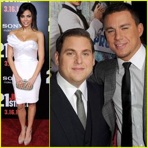 Channing Tatum & Jonah Hill Premiere '21 Jump Street' in L.A.