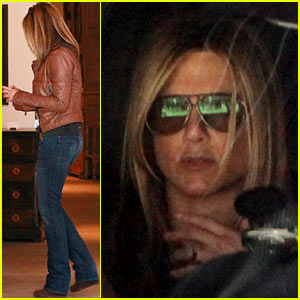Jennifer Aniston: Furniture Shopping with Justin Theroux!